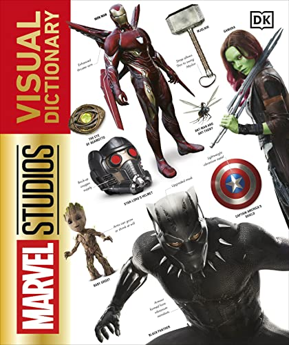 Marvel Studios Visual Dictionary (Dk Marvel)
