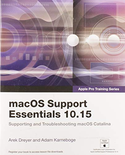 Karneboge, A: macOS Support Essentials 10.15 - Apple Pro Tra (Apple Pro Training) von Pearson Education (US)