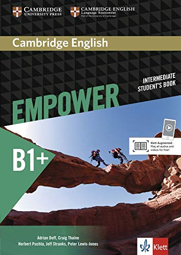 Cambridge English Empower B1+: Student's Book