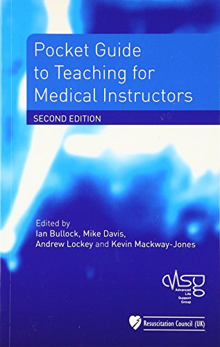 Pocket Guide to Teaching for Medical Instructors von John Wiley & Sons