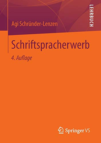 Schriftspracherwerb (German Edition)