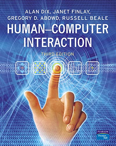 Human-Computer Interaction von Prentice Hall