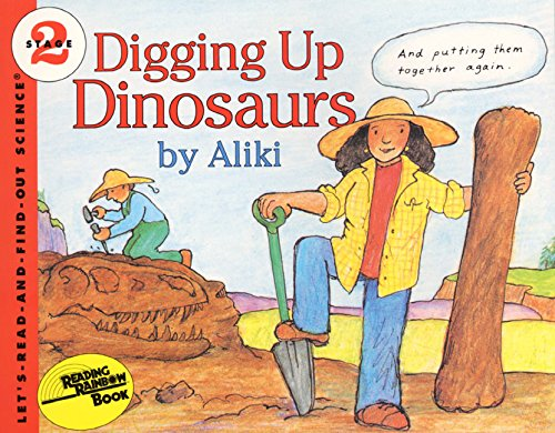 Digging Up Dinosaurs (Let's-Read-and-Find-Out Science 2) von HarperCollins