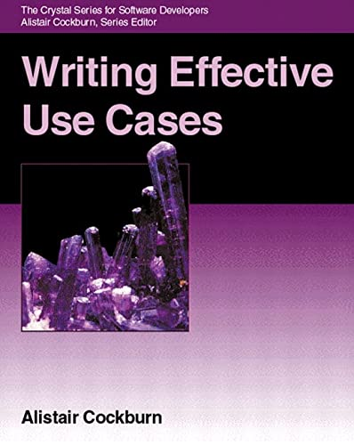 Writing Effective Use Cases (Crystal Series for Software Development) (Agile Software Development Series) von Pearson Education (US)