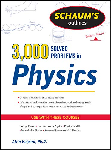 Schaum's 3,000 Solved Problems in Physics (Schaum's Outlines) von McGraw-Hill Education - Europe