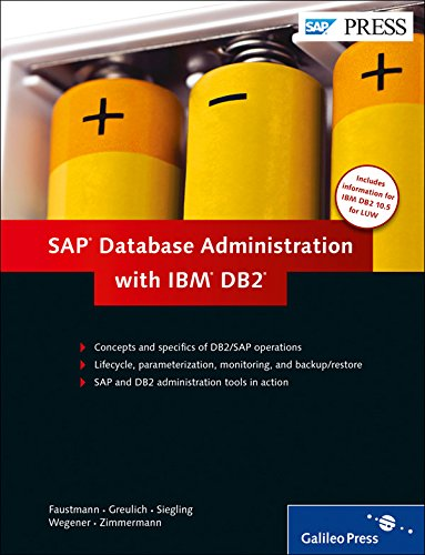 SAP Database Administration with IBM DB2 (SAP PRESS: englisch) von SAP PRESS