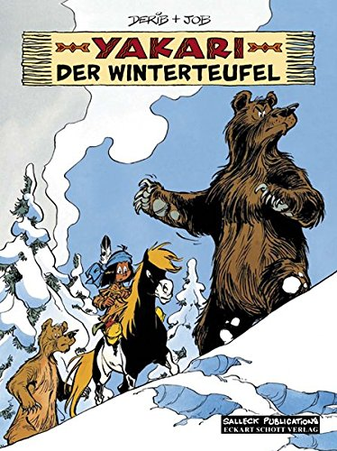 Yakari BAnd 20: Der Winterteufel von Salleck Publications