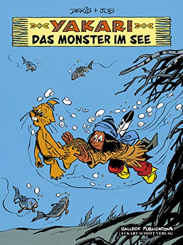 Yakari Band 17: Das Monster im See von Salleck Publications