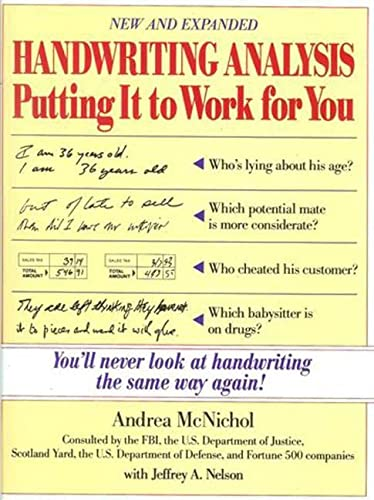 Handwriting Analysis: Putting It to Work for You von McGraw-Hill Education