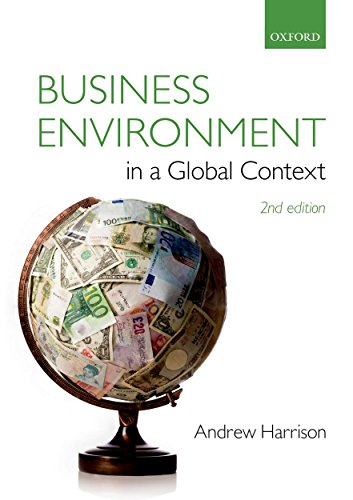 Business Environment in a Global Context von Oxford University Press