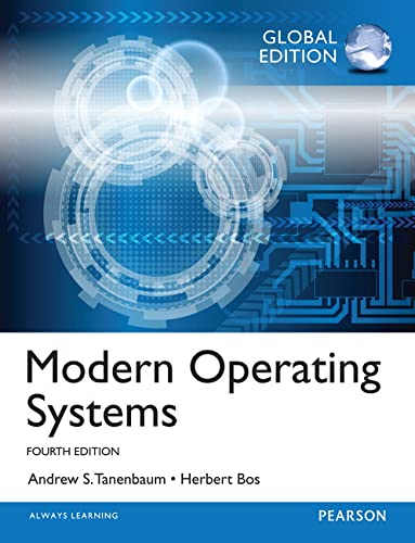 Modern Operating Systems: Global Edition von Pearson