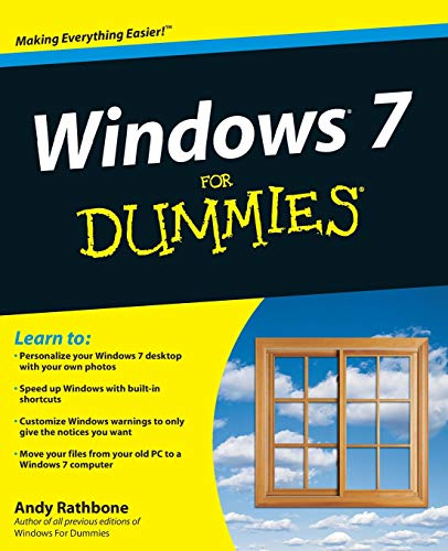 Windows 7 For Dummies (For Dummies Series)