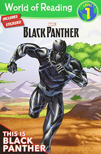 World of Reading: Black Panther: This is Black Panther (Level 1) von Marvel Press