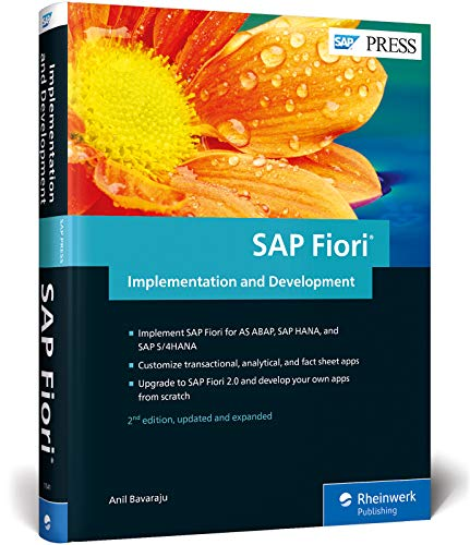 SAP Fiori Implementation and Development (SAP PRESS: englisch) von SAP Press