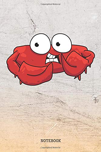 "Notebook: Funny Crab Planner / Organizer / Lined Notebook (6"" x 9"") von Independently published"