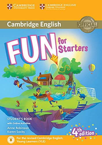 Fun for Starters 4th Edition: Student's Book with audio with online activities