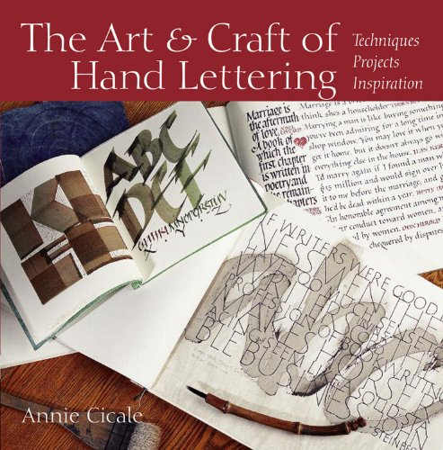 The Art and Craft of Hand Lettering: Techniques, Projects, Inspiration von BLOOMIN BOOKS