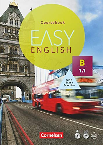 Easy English: B1: Band 1 - Kursbuch mit Audio-CD und Video-DVD