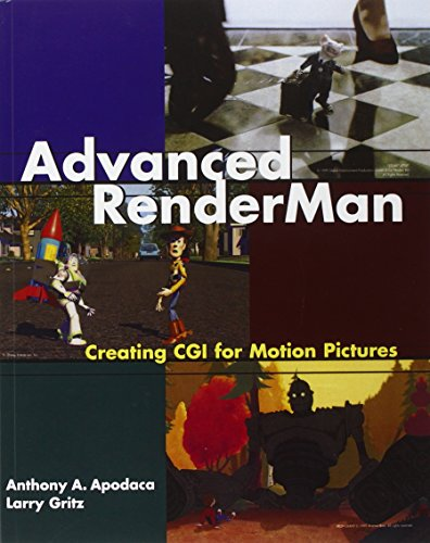 Advanced RenderMan: Creating CGI for Motion Pictures (The Morgan Kaufmann Series in Computer Graphics) von Morgan Kaufmann