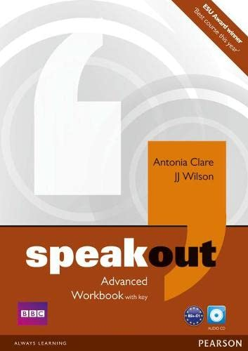 Speakout Advanced. Workbook (with Key) and Audio CD von Pearson