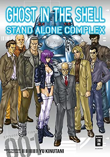 Ghost in the Shell - Stand Alone Complex 01 von Egmont Manga