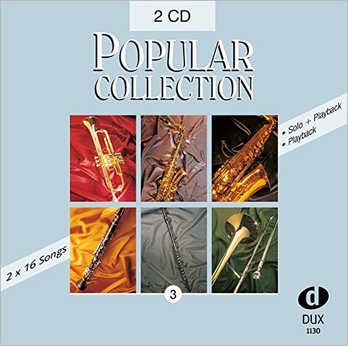 Popular Collection 3 Doppel-CD, Halb- und Vollplayback