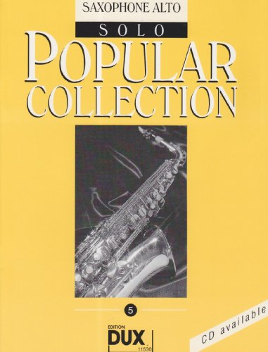 Popular Collection 5 Altsaxophon Solo