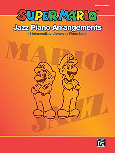 Super Mario Jazz Piano Arrangements  |  pending  |  Buch