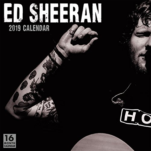 2019 Ed Sheeran 16-Month Wall Calendar: By Sellers Publishing von SELLERS PUB INC