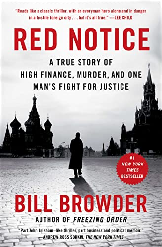 Red Notice: A True Story of High Finance, Murder, and One Man's Fight for Justice von Simon & Schuster