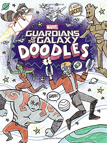 Guardians of the Galaxy Doodles (Doodle Book) von Marvel