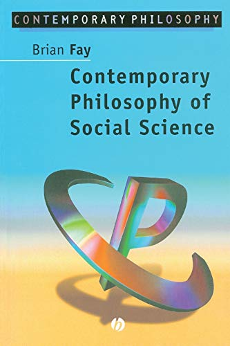 Contemporary Philosophy of Social Science: A Multicultural Approach von Wiley-Blackwell