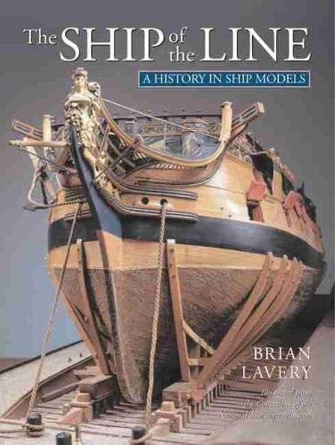 The Ship of the Line (A History in Ship Models) von U S NAVAL INST PR