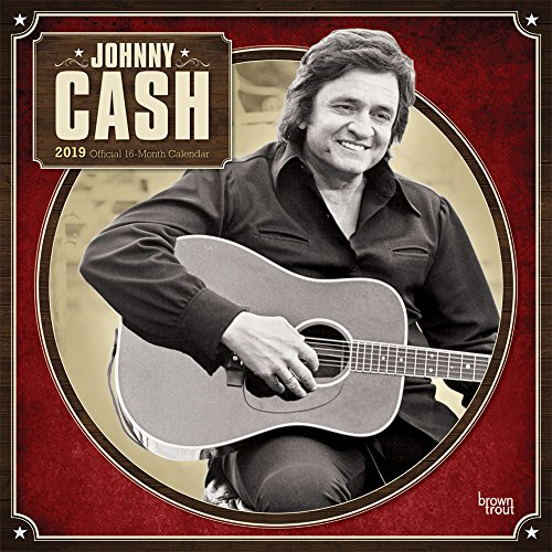 Johnny Cash 2019 - 18-Monatskalender (Wall-Kalender) von Brown Trout