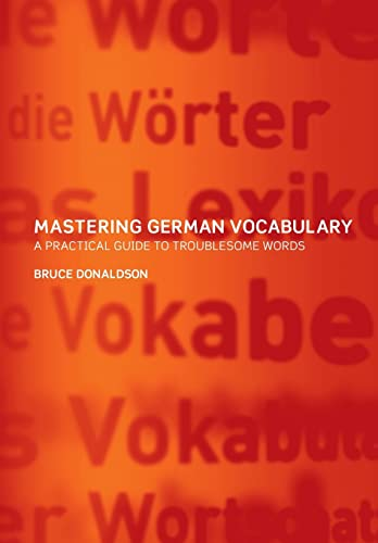 Mastering German Vocabulary: A Practical Guide to Troublesome Words von Routledge