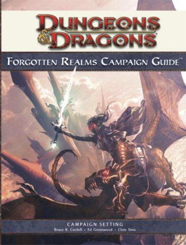 Forgotten Realms Campaign Guide, 4th Edition (Dungeons & Dragons Campaign) von Wizards of the Coast