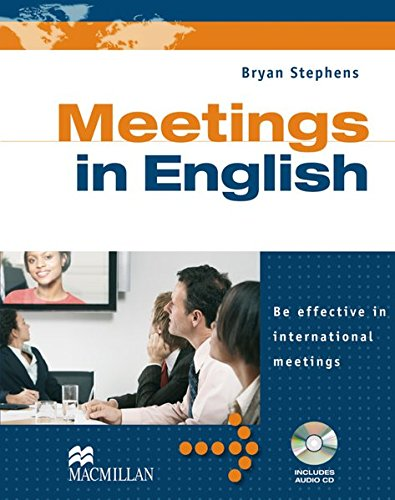 Business Skills: Meetings in English: Be effective in international meetings / Student's Book with Audio-CD von Hueber, Verlag GmbH & Co. KG