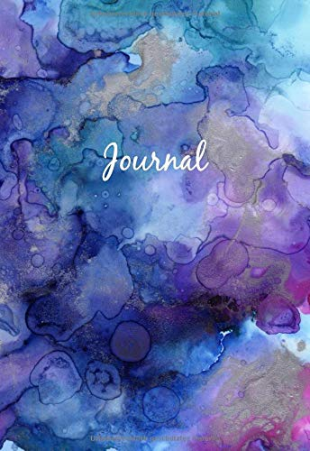 Dot Grid Journal A6  - Mini Notizbuch: Blanko Heft Für Bullet Journaling | Dotted Notebook | 110 Punktraster Seiten | Soft Cover Aquarell von Independently published
