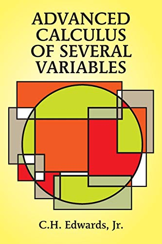Advanced Calculus of Several Variables (Dover Books on Advanced Mathematics) von Dover Publications