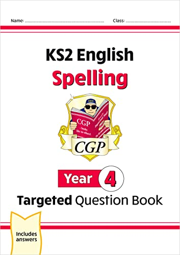 Books, C: KS2 English Targeted Question Book: Spelling - Yea von Coordination Group Publications Ltd (CGP)