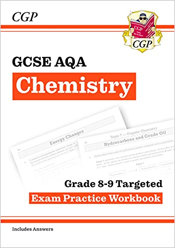 New GCSE Chemistry AQA Grade 8-9 Targeted Exam Practice Work von Coordination Group Publications Ltd (Cgp)