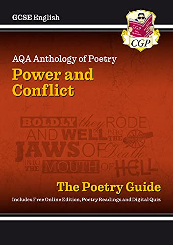 New GCSE English Literature AQA Poetry Guide: Power & Confli von Coordination Group Publications Ltd (Cgp)