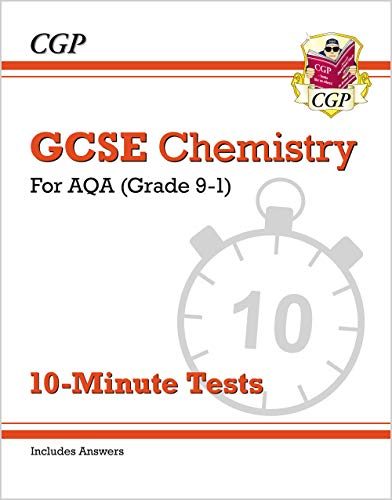 New Grade 9-1 GCSE Chemistry: AQA 10-Minute Tests (with answers) von Coordination Group Publications Ltd (CGP)