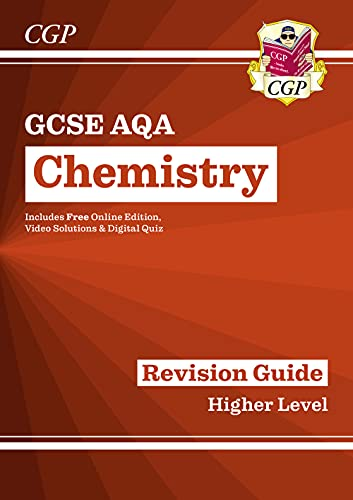 Grade 9-1 GCSE Chemistry: AQA Revision Guide with Online Edi von Coordination Group Publications Ltd (Cgp)