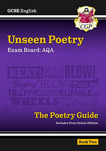 New Grade 9-1 GCSE English Literature AQA Unseen Poetry Guid von Coordination Group Publications Ltd (Cgp)