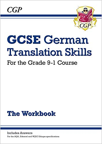 New Grade 9-1 GCSE German Translation Skills Workbook (includes Answers) von Coordination Group Publications Ltd (CGP)