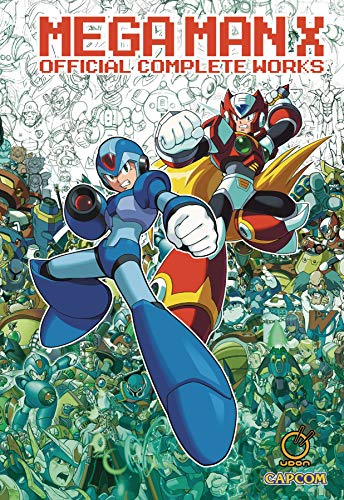 Mega Man X: Official Complete Works HC von Udon Entertainment
