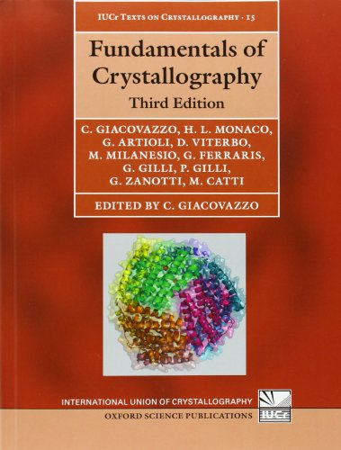 Fundamentals of Crystallography (International Union of Crystallography Monographs on Crystallography, Band 15) von Oxford University Press