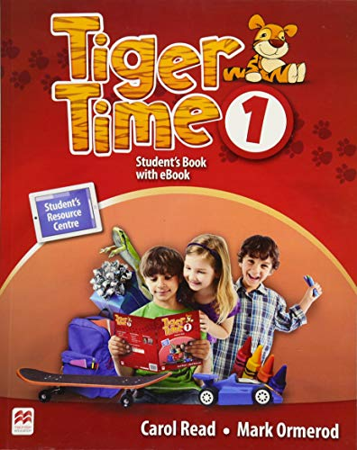 Tiger Time 1: Student's Book + ebook + Sticker + Online Resource Centre von Hueber Verlag