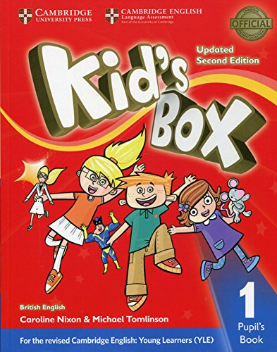 Kid's Box Level 1 Pupil's Book British English von Cambridge University Press